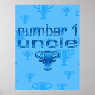Tío del número 1 poster