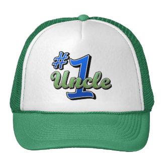 Tío del número uno gorras de camionero