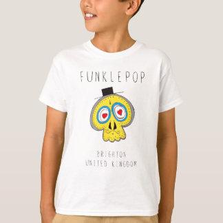 Tío Funkle Skull Playera