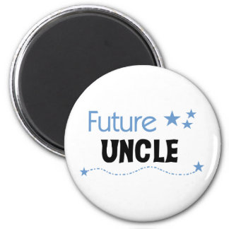 Tío futuro imán redondo 5 cm