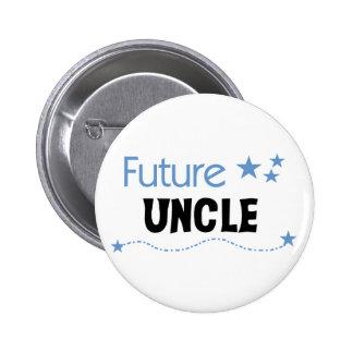 Tío futuro pin redondo 5 cm