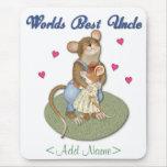 Tío grande de los abrazos alfombrillas de raton