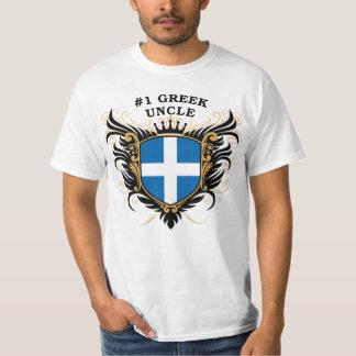 Tío griego del número uno camisas