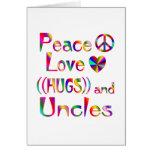 Tío Hugs Tarjeton