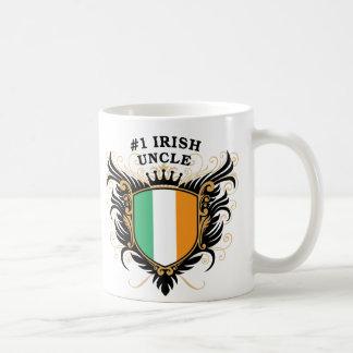 Tío irlandés del número uno taza clásica