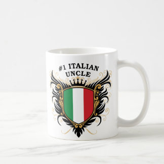 Tío italiano del número uno taza