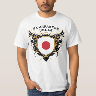 Tío japonés del número uno polera