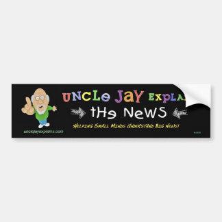Tío Jay Explains: Pegatina para el parachoques Pegatina Para Auto