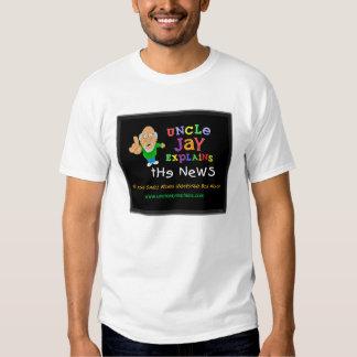 Tío Jay Explains Shirt para él Playera