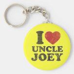 Tío Joey del amor del vintage I Llaveros