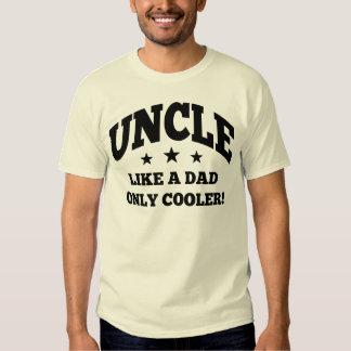 Tío Like un papá solamente más fresco Poleras