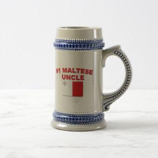 Tío maltés #1 tazas