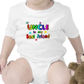 Tío mejor amigo trajes de bebé