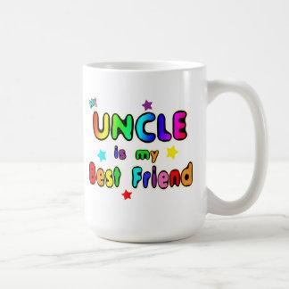 Tío mejor amigo taza