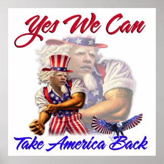 Tío Obama, podemos retirar sí América Póster
