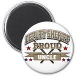 Tío orgulloso del ayudante del sheriff imán para frigorífico