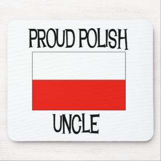 Tío polaco orgulloso mouse pad