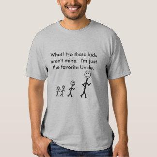 Tío preferido T-Shirt Poleras