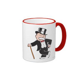 Tío rico Pennybags 3 Tazas De Café