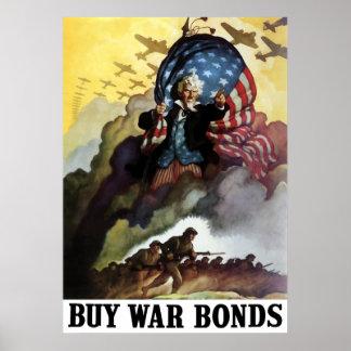 Tío Sam -- Compre enlaces de guerra Póster