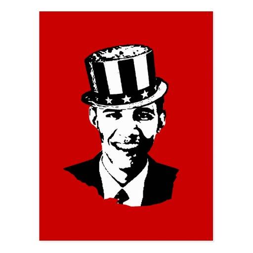 Tío Sam de Barack Obama Postal