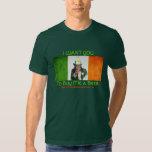 Tío Sam irlandés del bombero Poleras