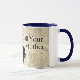"""Tío Sam """"llamada taza de su madre"""""""