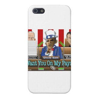 Tío Sam Obama iPhone 5 Protector