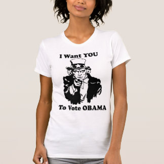 Tío Sam Obama Tee Shirt