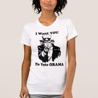 Tío Sam Obama Playeras