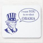 Tío Sam - Obama Tapete De Ratones