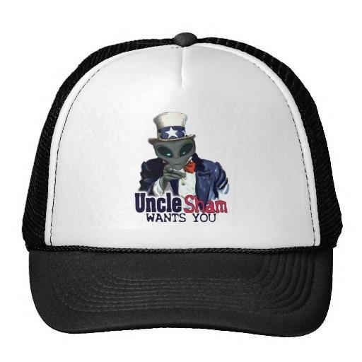 Tío Sham Wants You Hat Gorro De Camionero