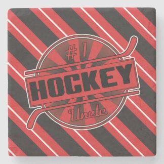 Tío Stone Coaster del hockey del número 1 Posavasos De Piedra