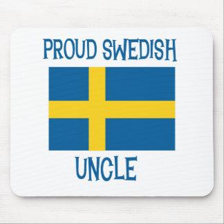 Tío sueco orgulloso tapetes de ratones