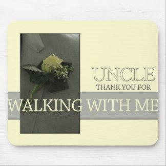 Tío    Thanks por caminar yo abajo del pasillo Tapete De Ratón
