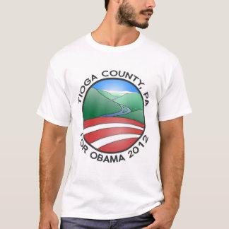 Tioga County PA for Obama 2012 Canyon T-Shirt
