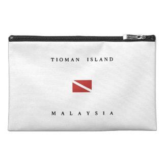 Tioman Island Malaysia Scuba Dive Flag Travel Accessory Bags