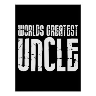 Tíos frescos retros del vintage: El tío más grande Posters
