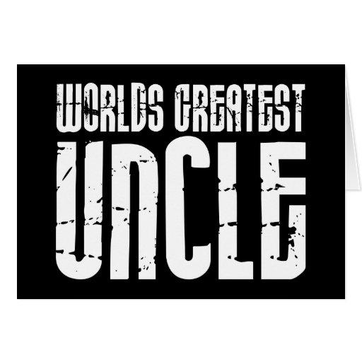 Tíos frescos retros del vintage: El tío más grande Tarjeta