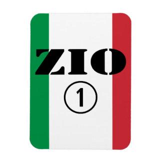 Tíos italianos: Uno de Zio Numero Imanes Rectangulares