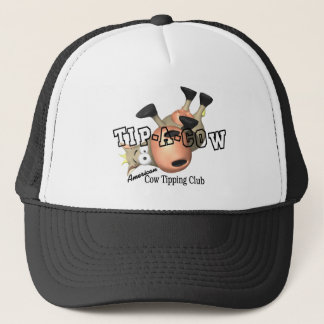 Tip a Cow T-shirts and Gifts. Trucker Hat