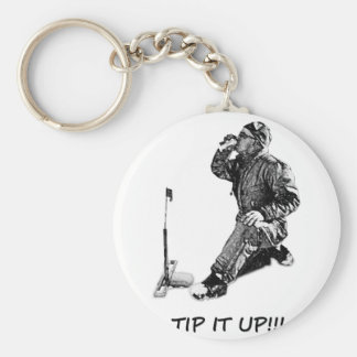 Tip It Up! Key Chain