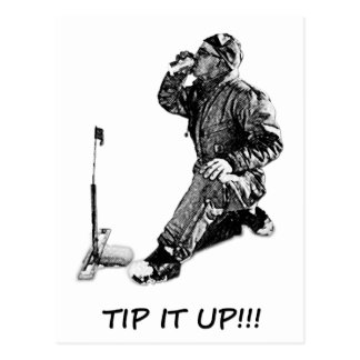 Tip It Up! Post Card