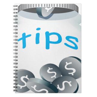 Tip Jar Notebook