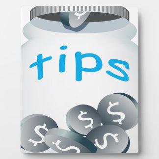 Tip Jar Plaque