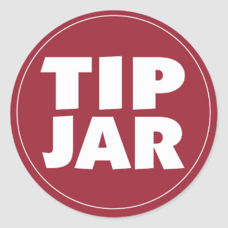 Tip Jar sticker