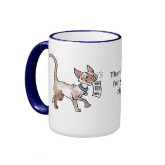 Tip Jar with Kitties Mug