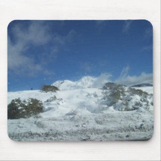 tip of mount shasta mouse pad