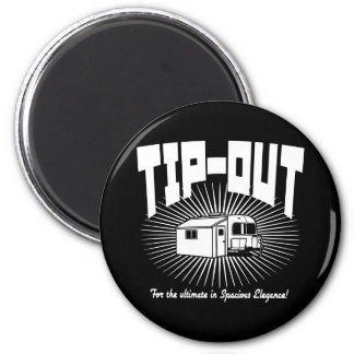 Tip-Out! 2 Inch Round Magnet
