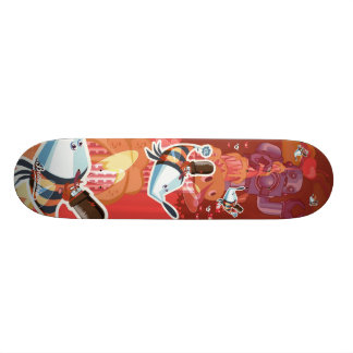 Tip Tap on the empire state building Skateboard Deck